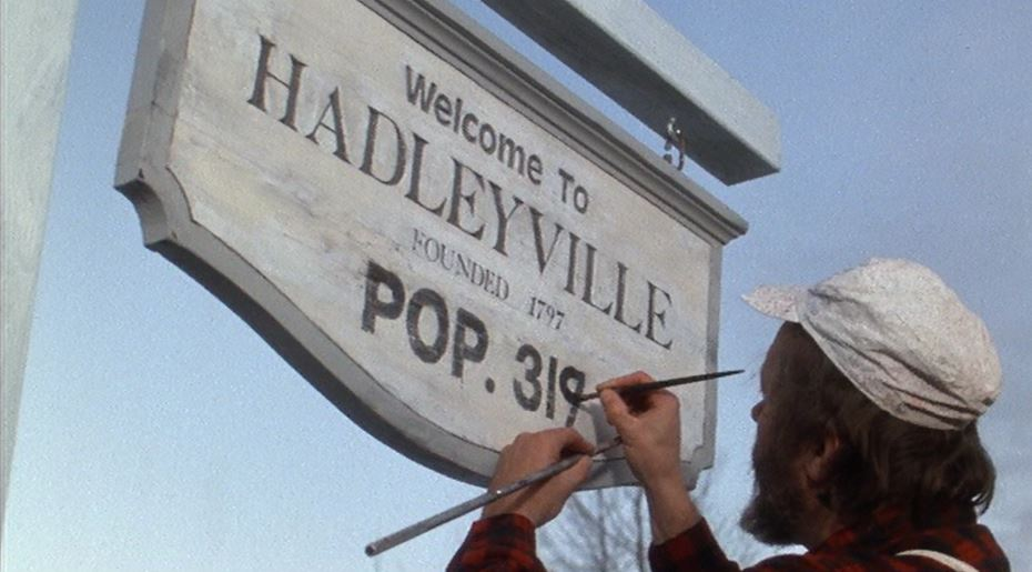 Welcome to Hadleyville Baby Boom Sign