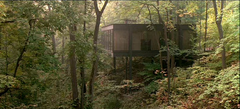Cameron Frye contemporary glass house Ferris Bueller