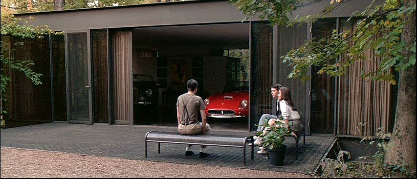 Cameron Frye garage Ferris Bueller movie