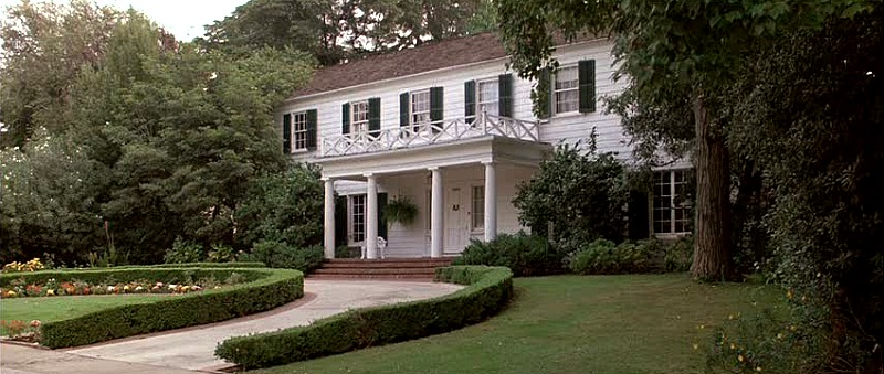 Ferris Bueller Movie Colonial House Exterior