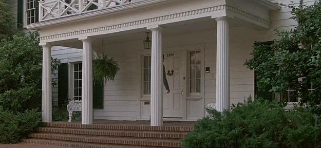 Ferris Bueller's Day Off white house porch