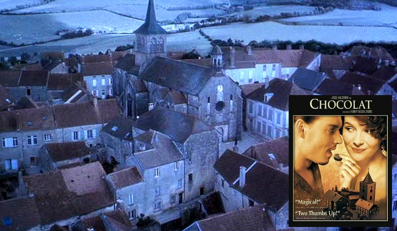 French Village Chocolat Movie Johnny Depp Juliette Binoche