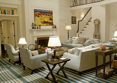 Nancy Meyers Movie Interiors Somethings on large shingle style home designs