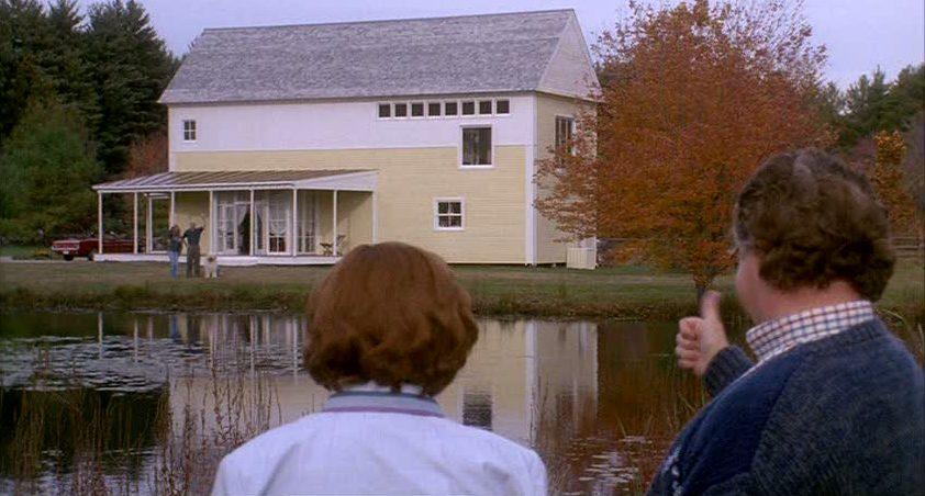 """Steve Martin's Yellow House in the Movie """"Housesitter"""""""