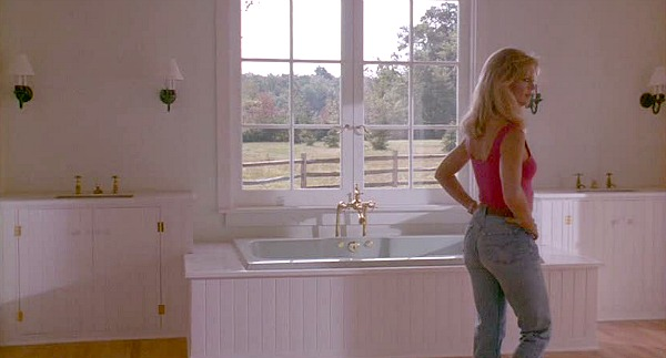 Housesitter movie house bathroom Goldie Hawn