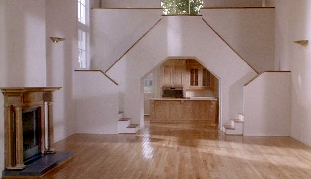 Housesitter movie house-empty great room