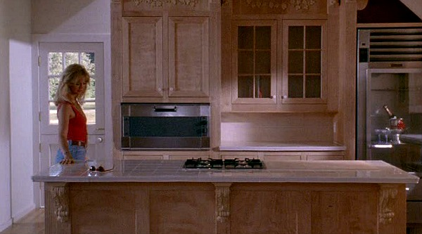 Housesitter movie kitchen