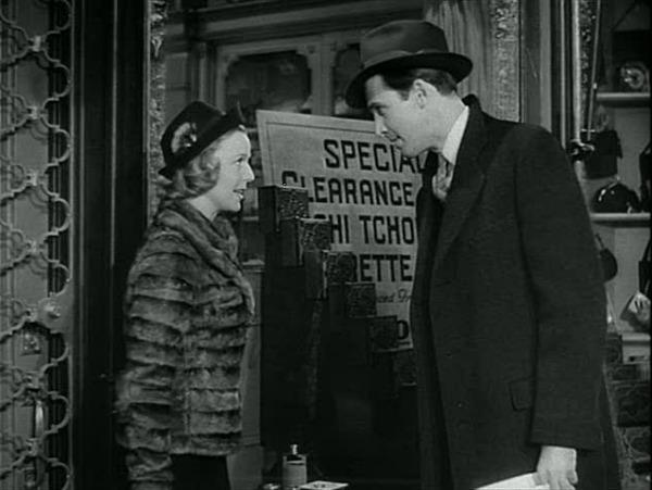 Jimmy Stewart in Shop Around the Corner movie