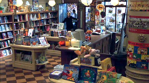 Shop Around the Corner bookstore You've Got Mail