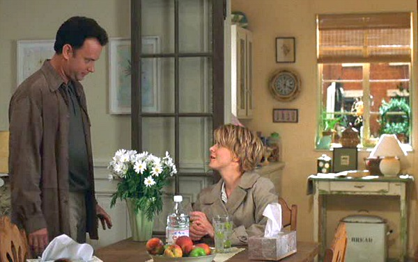Tom Hanks and Meg Ryan You've Got Mail daisies