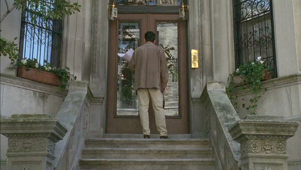 Tom Hanks at Meg Ryan's brownstone You've Got Mail