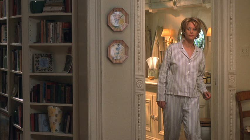 Meg Ryan\'s bathroom in You\'ve Got Mail
