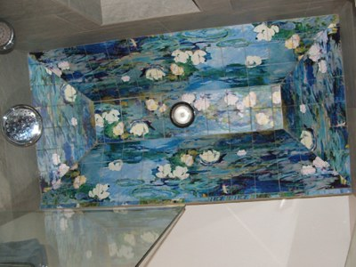 Water Lilies in the Shower & Other Things to See This Sunday