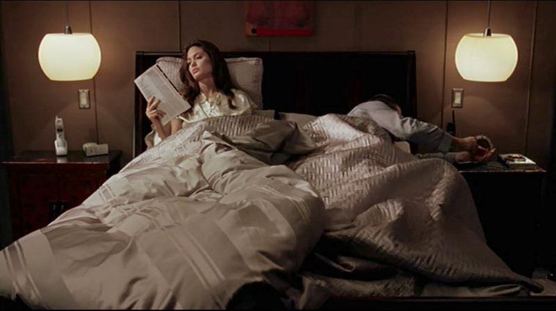 Angelina Jolie Brad Pitt Mr & Mrs Smith Bedroom