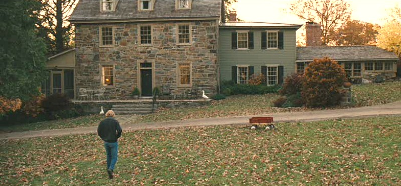 Marley and Me movie stone house Owen Wilson exterior