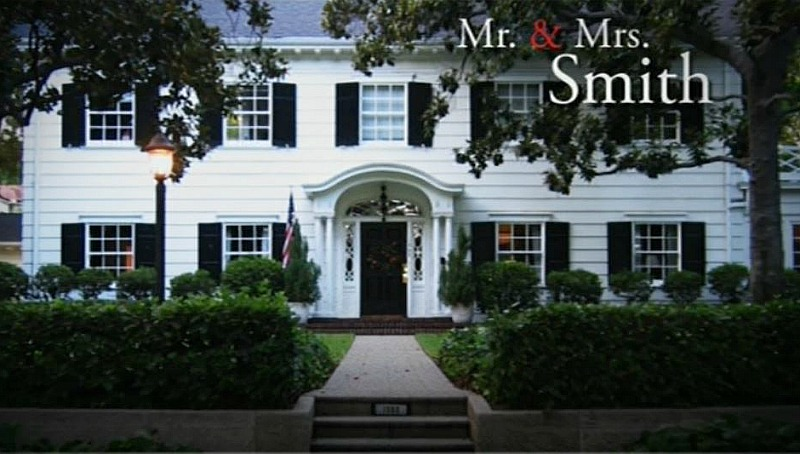 Mr. and Mrs. Smith movie house filming location
