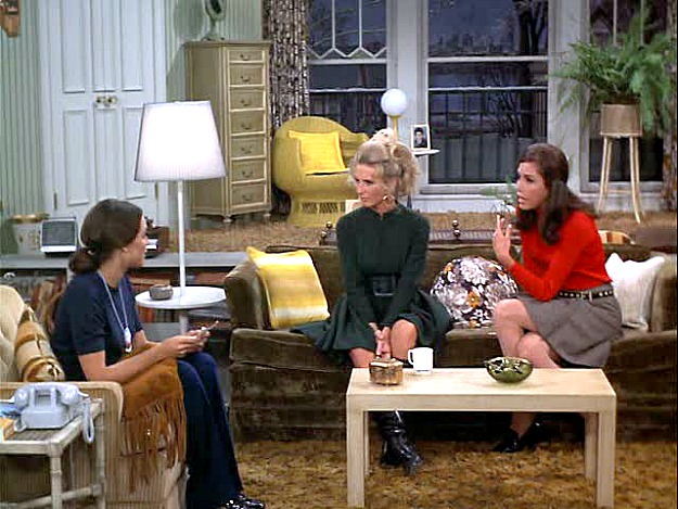 Rhoda Phyllis and Mary on the Mary Tyler Moore Show