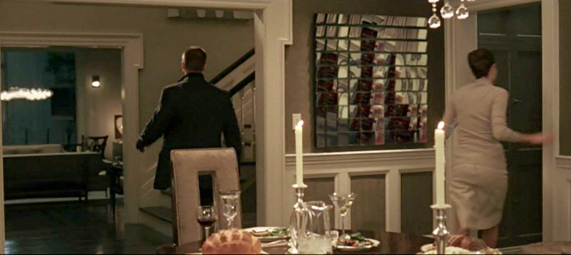 dining room set in Mr & Mrs Smith