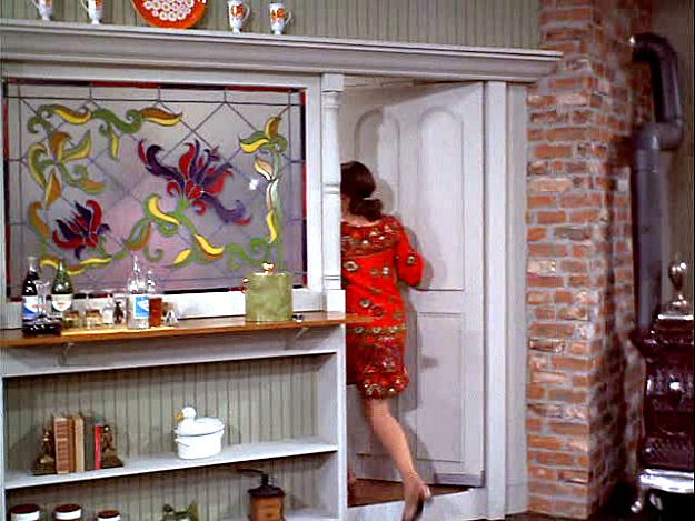 door to Mary Richards' kitchen MTM Show