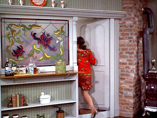 door to Mary Richards' kitchen MTM Show
