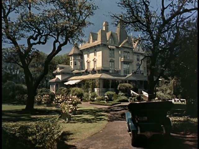 Aunt Polly's mansion in Pollyanna movie