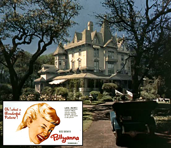 Pollyanna Disney movie Hayley Mills Victorian house