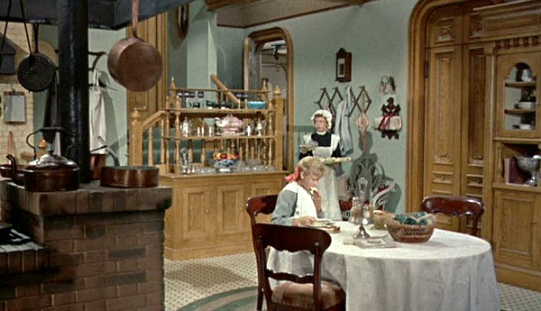 Pollyanna Disney movie Victorian kitchen 3