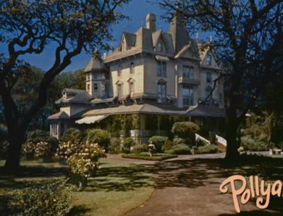 Pollyanna McDonald Mansion Matte Painting Movie House
