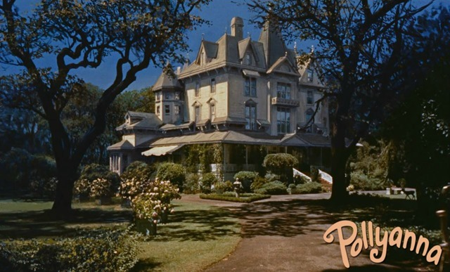 Pollyanna McDonald Mansion Matte Painting Movie House
