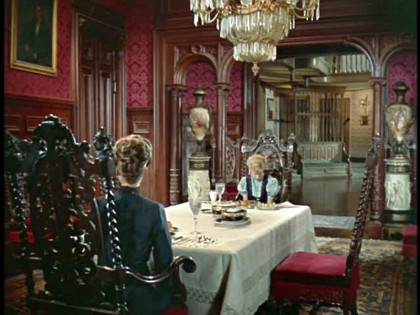 Pollyanna movie house dining room
