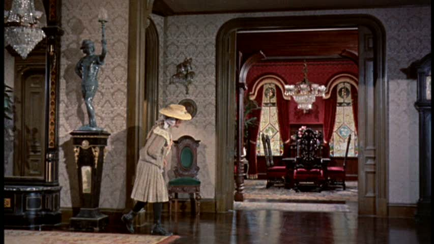 Pollyanna movie house front hall