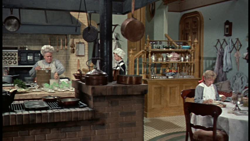 Pollyanna movie house kitchen set design