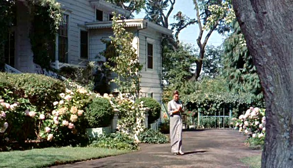Pollyanna movie house side yard
