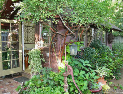 """Creating a Garden Cottage from a """"Haunted Shed"""""""