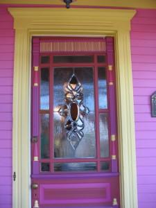 pink-painted-door
