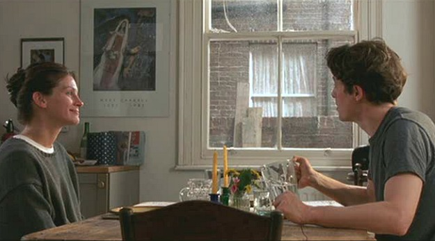 Chagall painting in Notting Hill movie