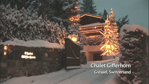 Gstaad chalet ext