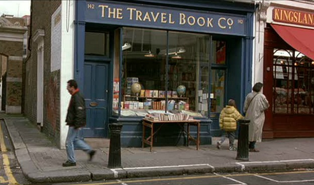 Hugh Grant's Travel Bookstore Notting Hill