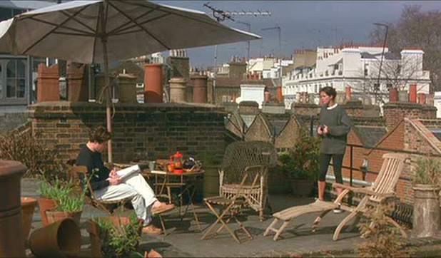 Hugh Grant's flat in Notting Hill movie 8
