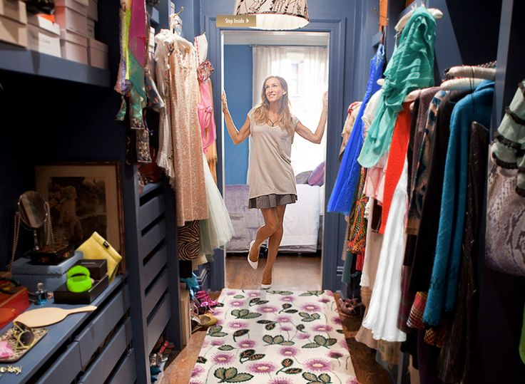 Sarah Jessica Parker in Carrie's Closet SatC