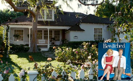 front exterior of Isabel's cottage in the movie Bewitched