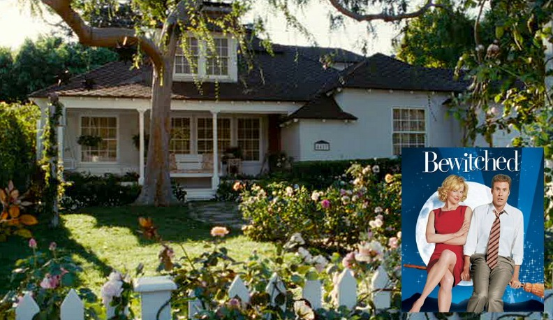 Bewitched movie house Isabel Bigelow cottage