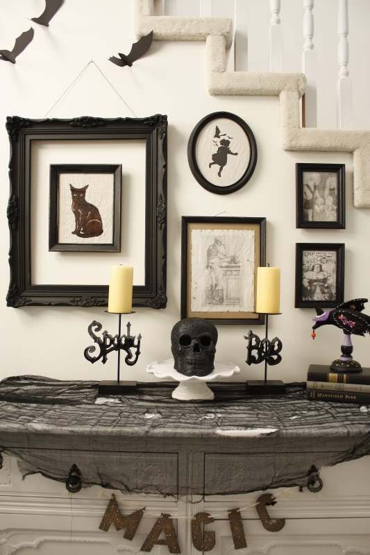 Halloween foyer-Life in the Fun Lane