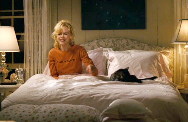 Isabel's bedroom in Bewitched movie