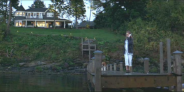 Michelle Pfeiffer on the dock-What Lies Beneath