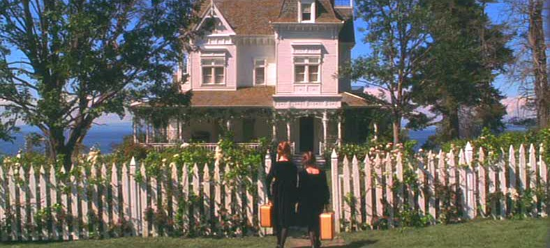 Practical Magic Victorian house on the water