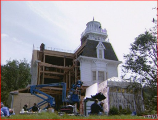 Practical Magic house-dismantled