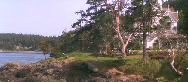 Practical Magic movie house on the water
