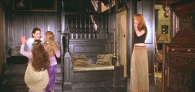 Practical Magic movie house staircase