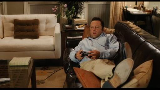 Vince Vaughn sofa